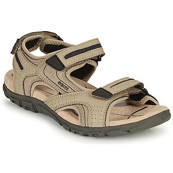 Topánky Muži Športové sandále Geox S.STRADA D Piesková / Námornícka modrá
