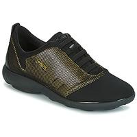 Topánky Ženy Nízke tenisky Geox D NEBULA C Zlatá / Čierna