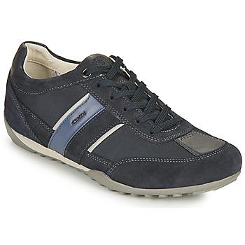 Topánky Muži Nízke tenisky Geox U WELLS C Modrá