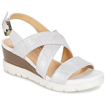 Topánky Ženy Sandále Geox MARYKARMEN P.B Biela