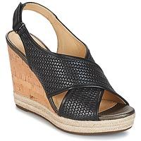 Topánky Ženy Sandále Geox JANIRA C Čierna