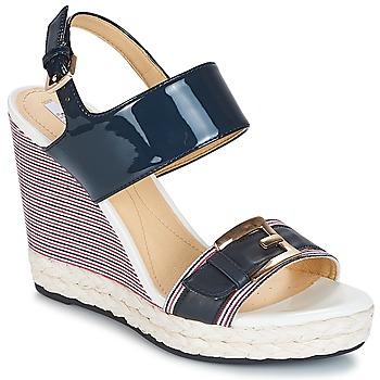 Topánky Ženy Sandále Geox JANIRA E Námornícka modrá