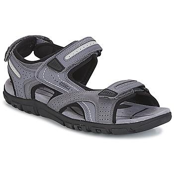 Topánky Muži Športové sandále Geox S.STRADA D Šedá