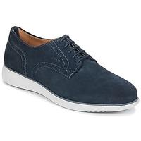 Topánky Muži Derbie Geox WINFRED A Námornícka modrá