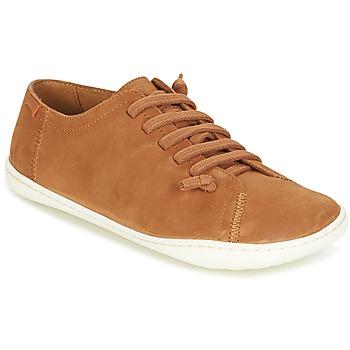 Topánky Ženy Derbie Camper PEU CAMI Svetlá hnedá