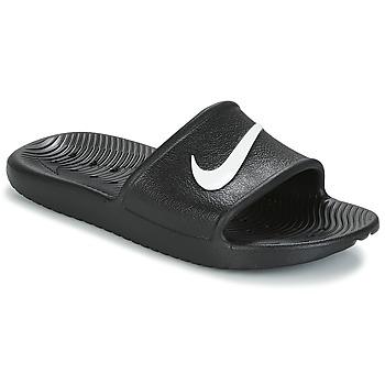 Topánky Ženy športové šľapky Nike KAWA SHOWER SANDAL W Čierna / Biela