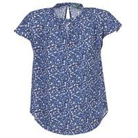 Oblečenie Ženy Blúzky Benetton TOULEOK Modrá / Biela