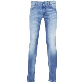 Oblečenie Muži Džínsy Slim Sisley BURLUDU Modrá / Medium