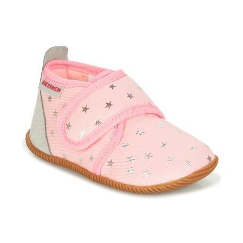 Topánky Dievčatá Papuče Giesswein SALSACH Ružová