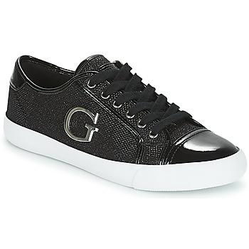 Topánky Ženy Nízke tenisky Guess ELLY Čierna