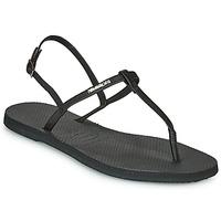 Topánky Ženy Sandále Havaianas YOU RIVIERA Čierna