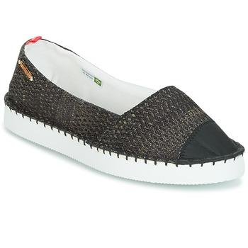 Topánky Ženy Espadrilky Havaianas ORIGINE FLATFORM UP Čierna