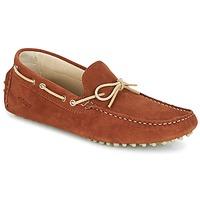 Topánky Muži Mokasíny Kost TAPALO Ťavia hnedá