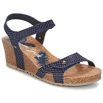 Topánky Ženy Sandále Panama Jack JULIA Námornícka modrá