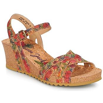 Topánky Ženy Sandále Panama Jack VERA Červená