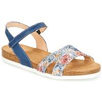 Topánky Ženy Sandále Think ZIFUDEKE Modrá