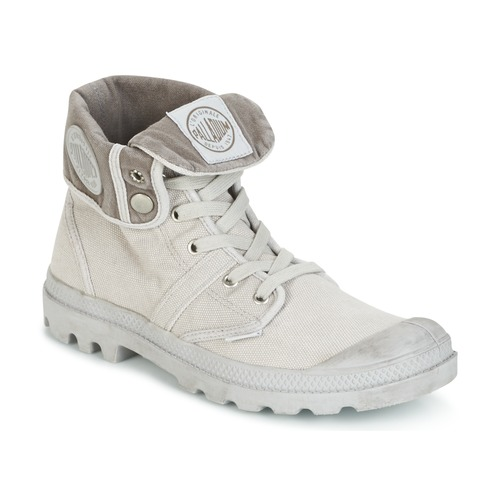 Topánky Muži Polokozačky Palladium US BAGGY Metalická