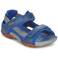 Topánky Chlapci Sandále Camper OUS Modrá