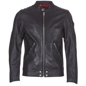 Oblečenie Muži Kožené bundy a syntetické bundy Diesel L SQUAD Čierna
