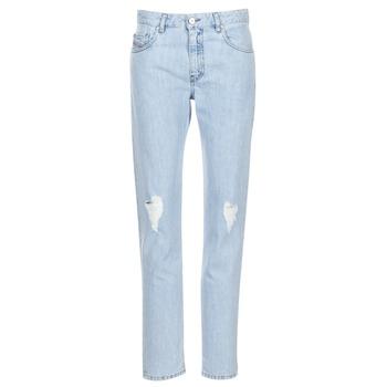 Oblečenie Ženy Rovné džínsy Diesel NEEKHOL Modrá