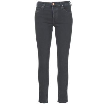 Oblečenie Ženy Rovné džínsy Diesel BABHILA Čierna