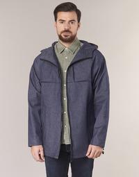 Oblečenie Muži Parky Scotch & Soda MYCOTI Námornícka modrá