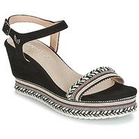 Topánky Ženy Sandále Kaporal SLYDE Čierna