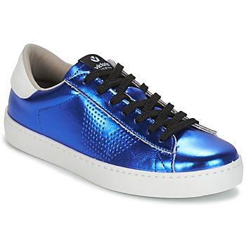 Topánky Ženy Nízke tenisky Victoria DEPORTIVO METALIZADO Modrá
