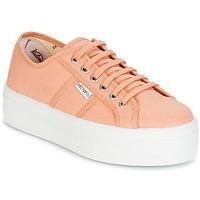 Topánky Ženy Nízke tenisky Victoria BLUCHER LONA PLATAFORMA Oranžová