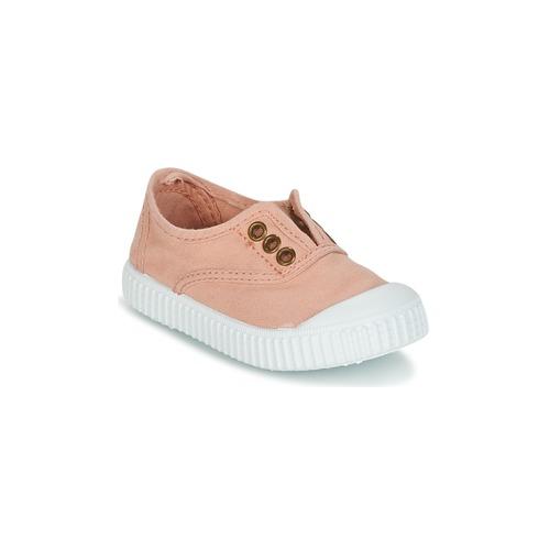 Topánky Dievčatá Nízke tenisky Victoria INGLESA LONA TINTADA Ružová