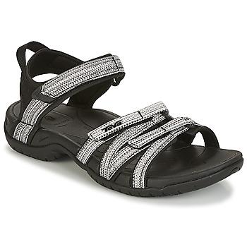 Topánky Ženy Športové sandále Teva TIRRA Čierna / Biela