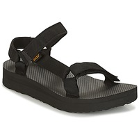 Topánky Ženy Sandále Teva MIDFORM UNIVERSAL Čierna