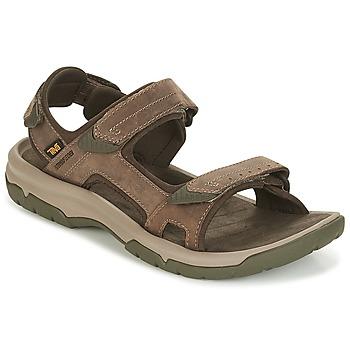 Topánky Muži Sandále Teva LANGDON SANDAL Hnedá