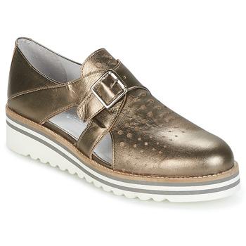 Topánky Ženy Derbie Philippe Morvan DISCO Bronzová