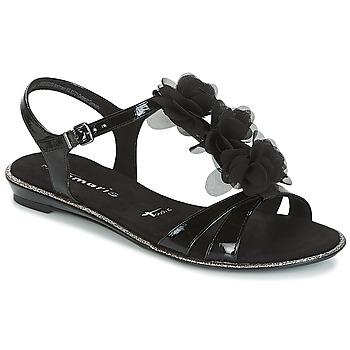 Topánky Ženy Sandále Tamaris GACAPI Čierna
