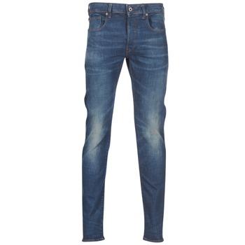 Oblečenie Muži Džínsy Slim G-Star Raw 3301 SLIM Modrá