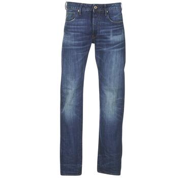 Oblečenie Muži Rovné džínsy G-Star Raw 3301 STRAIGHT modrá