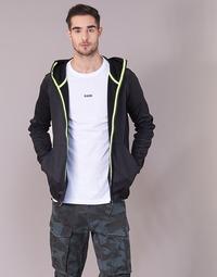 Oblečenie Muži Mikiny G-Star Raw STRETT SLIM HOODED ZIP THRU SW L/S Čierna