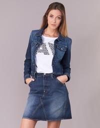 Oblečenie Ženy Džínsové bundy G-Star Raw D-STAQ S DC DNM JKT WMN Medium / Aged