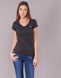 Oblečenie Ženy Tričká s krátkym rukávom G-Star Raw EYBEN SLIM V T WMN S/S Čierna