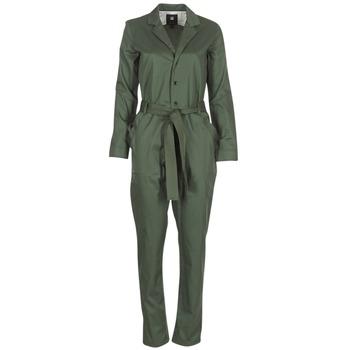 Oblečenie Ženy Módne overaly G-Star Raw DELINE JUMPSUIT WMN L/S Kaki