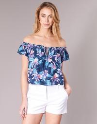 Oblečenie Ženy Blúzky Rip Curl TROPIC TRIBE TOP Modrá