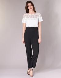 Oblečenie Ženy Módne overaly Molly Bracken YURITOE Čierna / Biela