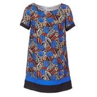 Oblečenie Ženy Krátke šaty Molly Bracken JUNCE Modrá