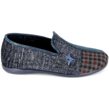 Topánky Muži Papuče Boissy Pantoufle JH56257 Marine Modrá