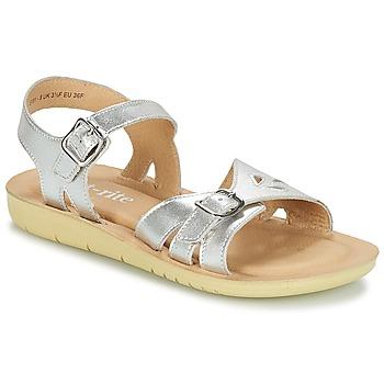 Topánky Dievčatá Sandále Start Rite SR SOFT HARPER Strieborná
