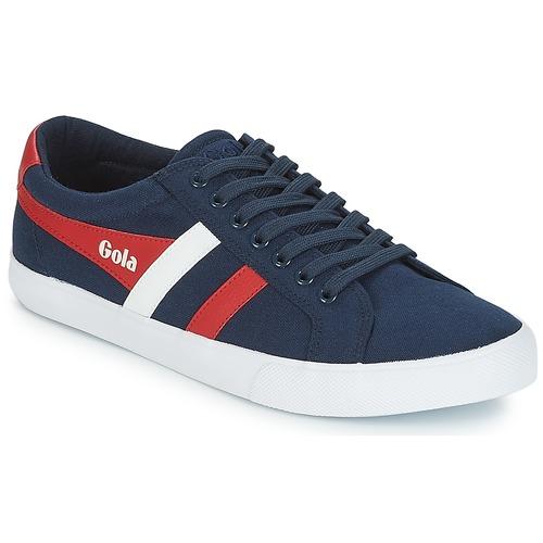 Topánky Muži Nízke tenisky Gola VARSITY Námornícka modrá / Biela / Červená