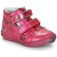Topánky Dievčatá Polokozačky GBB ROXANE Ružová