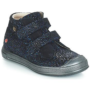 Topánky Dievčatá Polokozačky GBB RACHEL Modrá