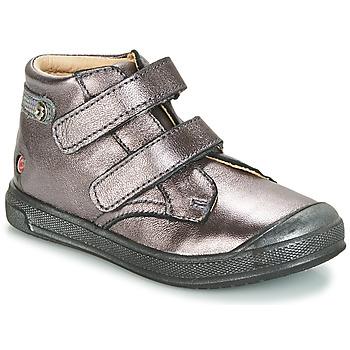 Topánky Dievčatá Členkové tenisky GBB RACHEL Fialová  / Metalická